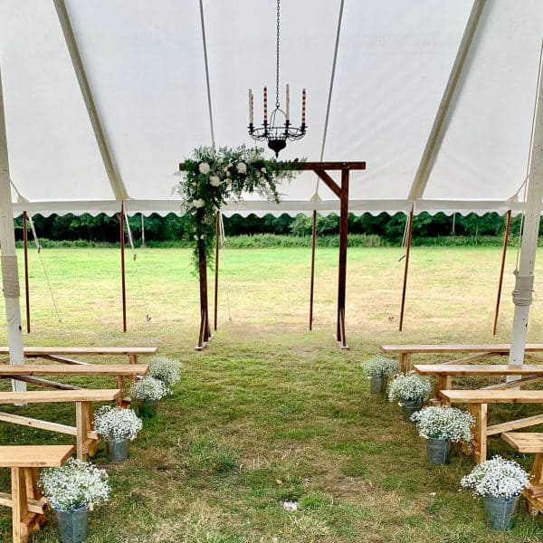 Flower Arch for Rustic Wedding Hire