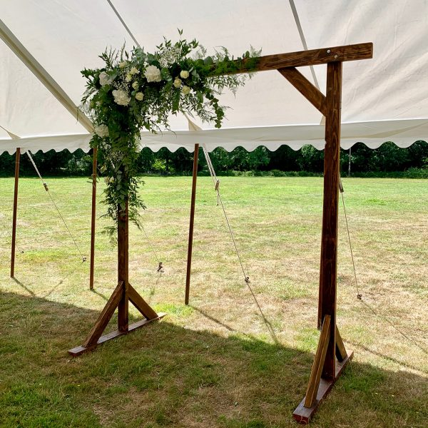 Rustic Flower Archway for hire