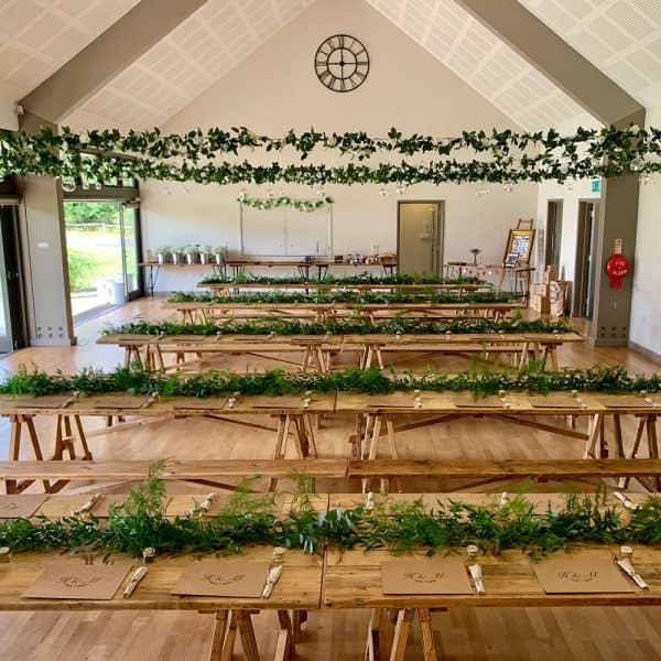 Rustic wedding furniture hire